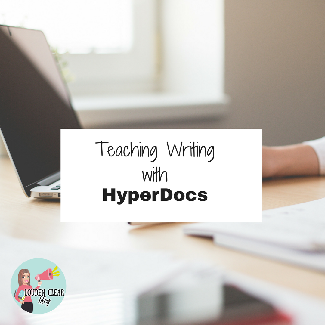 teach writing hyperdoc